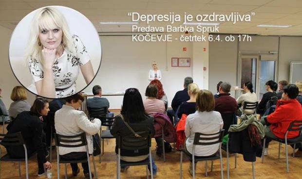 V četrtek, 6. aprila 2017 ob 17.h predavam v KOČEVJU