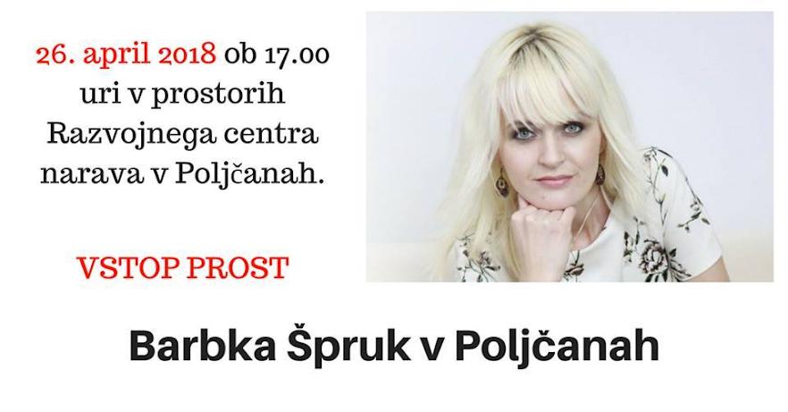 You are currently viewing DEPRESIJA JE OZDRAVLJIVA, predava Barbka Špruk