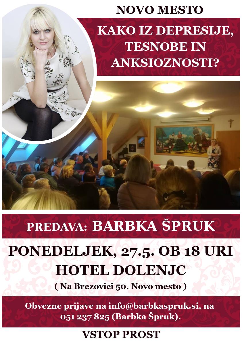 NOVO MESTO – HOTEL DOLENJC – 27.5.2019