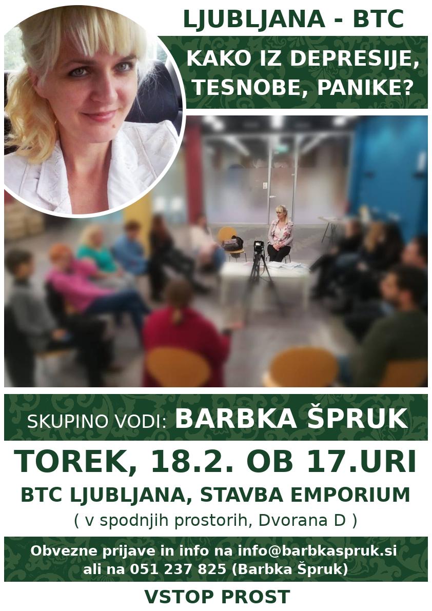 BTC LJUBLJANA – BARBKA ŠPRUK (skupina)