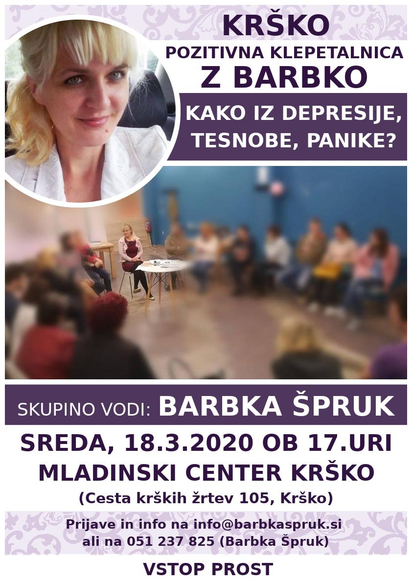 SKUPINA V KRŠKEM, 18.3.2020