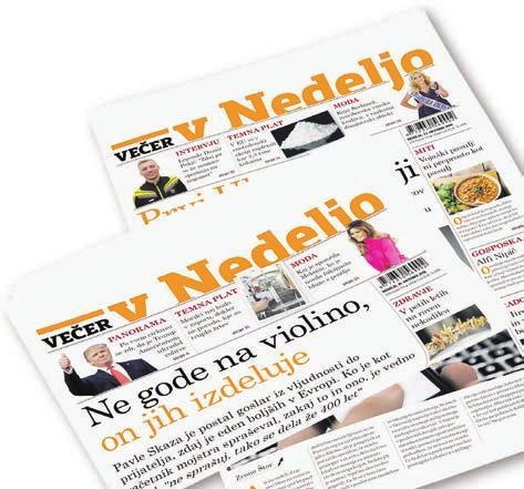 Članek v časopisu Večer